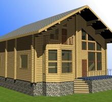 изображение проекта дома Проект дома из клееного бруса Вороново