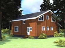 изображение проекта дома Проект дома из клееного бруса Загорянка 2