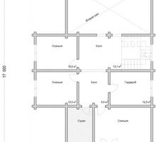 изображение проекта дома Проект дома из клееного бруса Загорянка