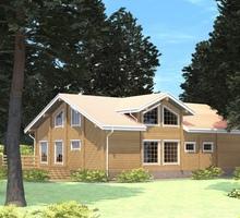 изображение проекта дома Проект дома из клееного бруса Завидово