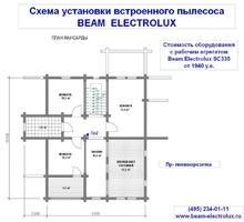 изображение проекта дома Проект дома из клееного бруса Жостово-1