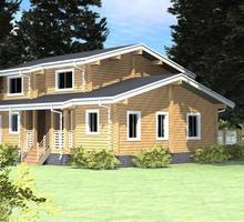 изображение проекта дома Проект дома из клееного бруса Жучки