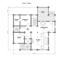 изображение проекта дома Жостово-1