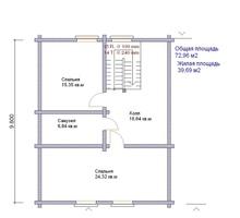 изображение проекта дома Карелия