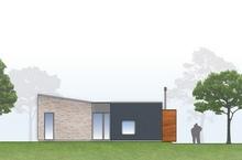 изображение проекта дома Modern 105