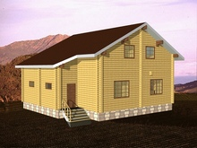 изображение проекта дома Морозово