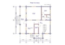 изображение проекта дома Оптима