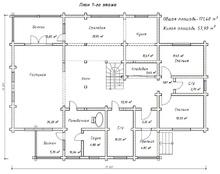 изображение проекта дома Паритет