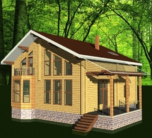 изображение проекта дома Николово-Прозорово