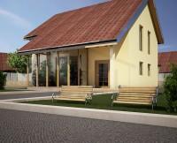 проект дома из бруса ANDROMACA