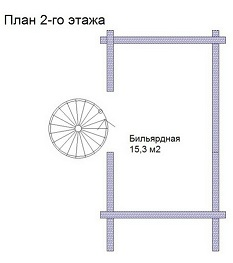 изображение проекта дома из клееного бруса Фоминское