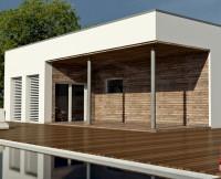 проект дома из бруса GEA