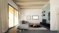 изображение проекта дома из клееного бруса Modern 105