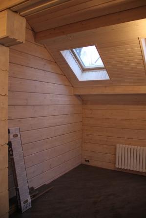 изображение проекта дома из клееного бруса Дом в Полянах