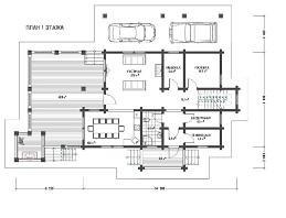 изображение проекта дома из клееного бруса Виола