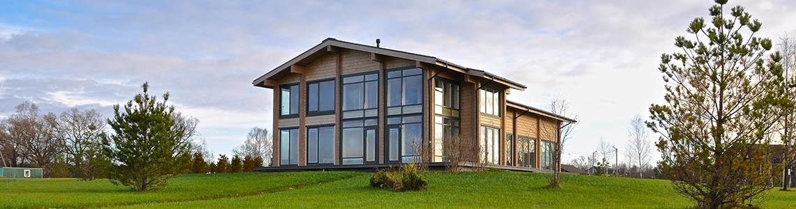 Клееный брус. Деревянные дома и бани из клееного бруса